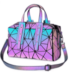 Amazon: Geometric Luminous Purses and Handbags for Women only $24.95 W/Code (Reg. $39.99)