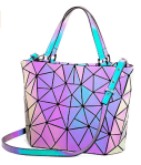 Amazon: 20% Off Holographic Reflective Handbag with Crossbody Strap for $17.21 (Reg. $26.89)
