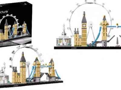 Target: LEGO Architecture London 21034 $33.99 (Reg $40)