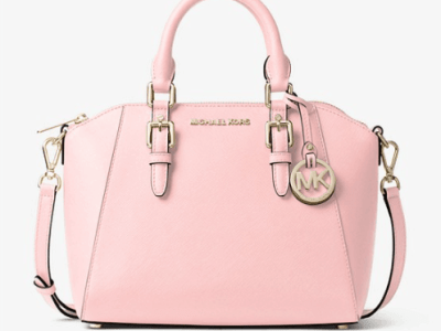 Michael Kors: Ciara Medium Saffiano Leather Satchel $79!!(Reg. $368)