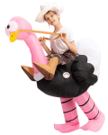 Amazon: Ostrich Air Blow-up Deluxe Halloween Costume for Kids Only $25.45 (Reg. $44.95)