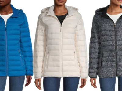 JCPenney: Women's Puffer Jacket ONLY $21 (Regularly $80)