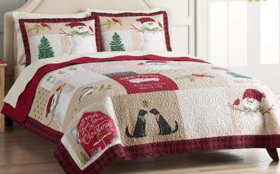 Kohl's: Holiday Quilt Sets Starting at ONLY $71.99 + $10 Kohl's Cash (Regularly $180)