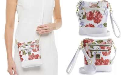 Kohl's: Stone & Co. Rose Rose Bloom Handbag for JUST $15.68 (Regularly $49)