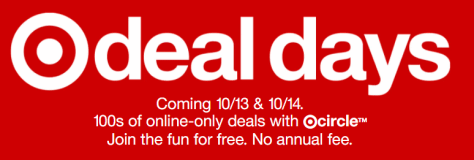 Target Deal Days on Oct 13 & 14