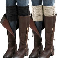 Amazon: 2 Pairs Womens Boot Cuffs for $5.49 (Reg. Price $10.99) after code!