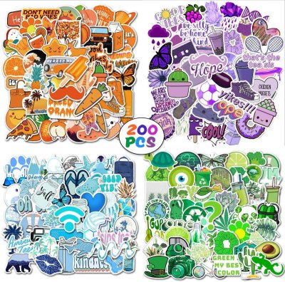 Amazon: 200 PCS Mixed Stickers Only $4.97 W/Code (Reg. $9.95)