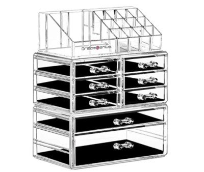 Amazon: 3 Pcs DreamGenius Clear Acrylic Makeup Organizer for $17.38 (Reg. Price $28.97) after code!