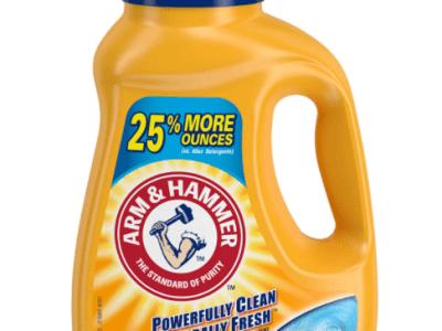 Amazon: Arm & Hammer Clean Burst, 32 Loads for $2.87