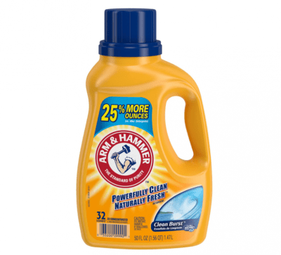 Amazon: Arm & Hammer Clean Burst Liquid Laundry Detergent, 32 Loads for $2.87 (Reg. Price $8.99)