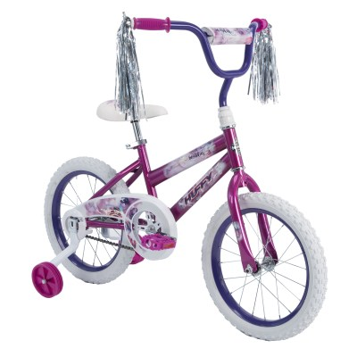 "Walmart: Huffy 16"" Sea Star Girl's Bike, Metallic Purple For $58.00 Reg.$68.00"