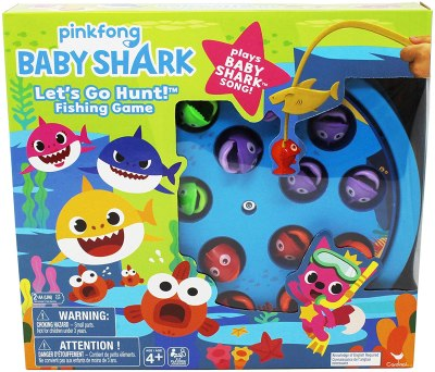 Amazon: Baby Shark Let's Go Hunt Musical Fishing Game for Kids Only $7.49