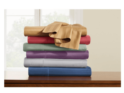 Homedepot: Up to 40% Off Select Bedding & Bath Linens