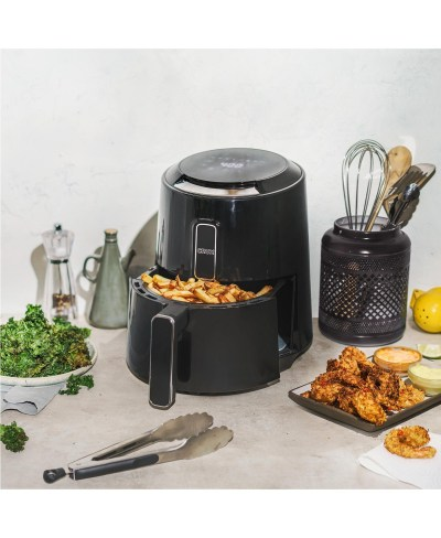 Macy's: Crux 3.7-Quart Touchscreen Electric Air Fryer for $39.99 Free Shipping! (Reg. $99.99)