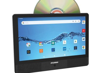 "Walmart: Sylvania 10.1"" Quad Core Tablet/Portable DVD Player Combo $59.00 (Reg $89.00)"