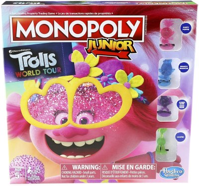 Amazon: Monopoly Junior DreamWorks Trolls World Tour Edition Board Game for Kids for $8.87 (Reg.Price $14.99)