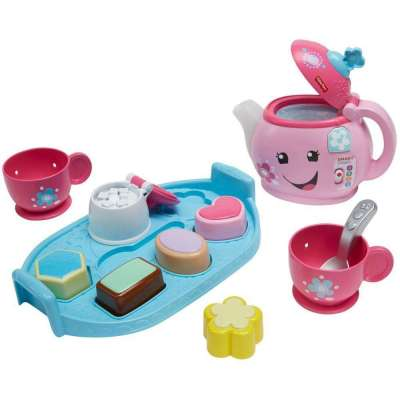Walmart: Fisher-Price Laugh & Learn Sweet Manners Tea Set for $14.96 + Free Store Pickup! (Reg. $19.99)
