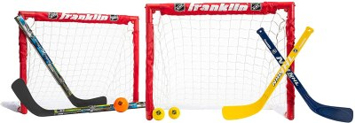 Amazon: Franklin Sports Kids Folding Hockey 2 Goal Set 24x19x19 Inch for $33.99 (Reg. $51.99)