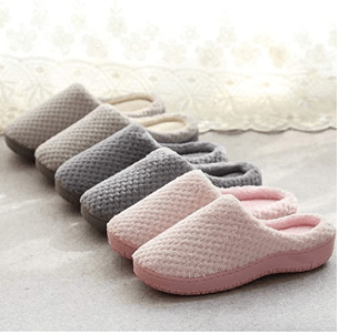 Amazon: Fuzzy Memory Foam Slippers Only $14.39 W/Code (Reg. $23.98)