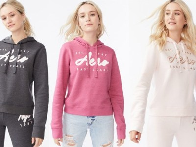 Aeropostale: Hoodies for Women and Teen Girls ONLY $9.99 (Reg $40)