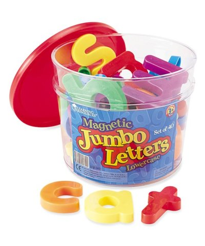Zulily: Jumbo Lowercase Magnetic Letters ONLY $10.99