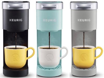 Amazon: Keurig K-mini Single Serve Coffee Maker $59.99