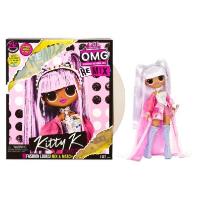 Walmart: L.O.L. Surprise! O.M.G. Remix Kitty K Fashion Doll – 25 Surprises with Music For $34.88