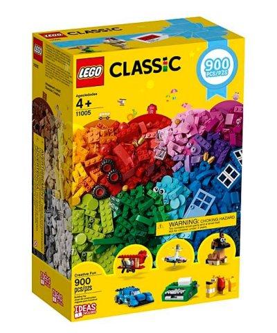 Zulily: LEGO® Classic 900-Piece Creative Fun For $28.78