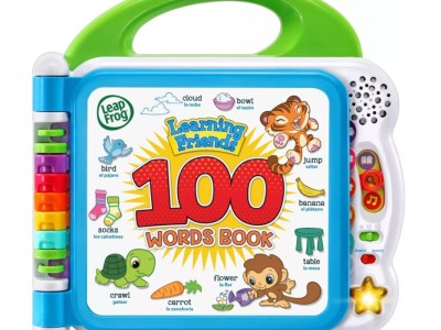 Target: LeapFrog Learning Friends 100 Words Book, Buy 1 Get 1 50% off!