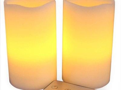 Amazon: LED Lytes Flameless Candles 2 Ivory Wax - 55% Off W/Code