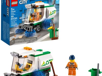 Amazon: LEGO City Street Sweeper 60249 Construction Toy for $5.99 (Reg. $9.99)