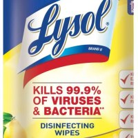Amazon: Lysol Wipes, Lemon & Lime Blossom, 80ct for $5.59