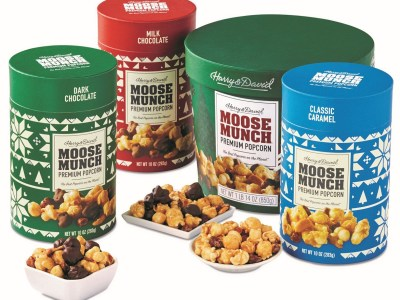 Macy's: Moose Munch Gourmet Popcorn Holiday Canister Collection $7.98 - 11.98