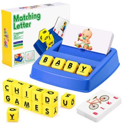 Amazon: Matching Letter Game for $10.79 (Reg. Price $17.99) after code!