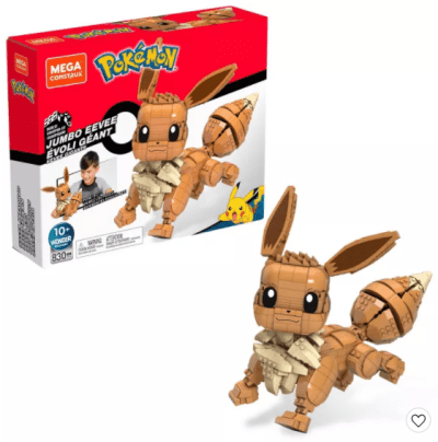 Target: Mega Construx Pokemon Jumbo Eevee Construction Set for $24.99 (Reg. Price $49.99)