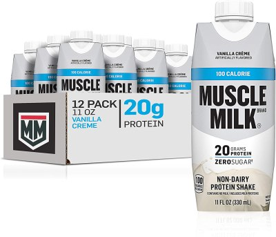 Amazon: 12 Pack Muscle Milk 100 Calorie Protein Shake, Vanilla Crème 11oz for $14.97
