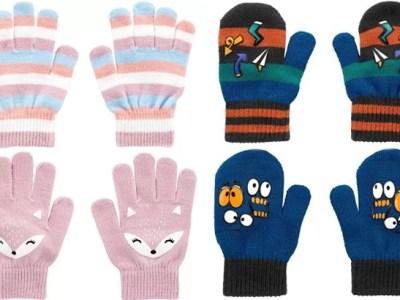 OshKosh B'gosh Kids 2-Pack Gloves for ONLY $4 Shipped (Reg $12)