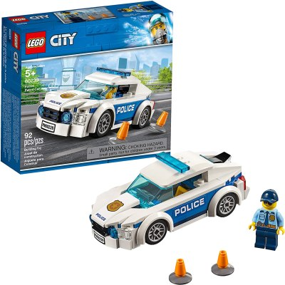 Amazon: LEGO City Police Patrol Car Building Kit Now $5.99
