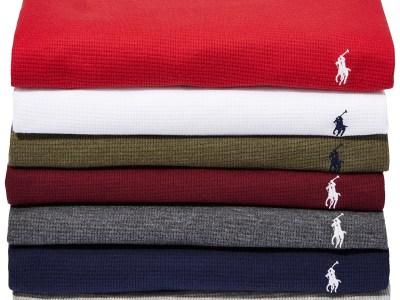 Macy's: Men's Waffle-Knit Thermal Pajama Shirt N ow $21.99 (Reg $45.00)