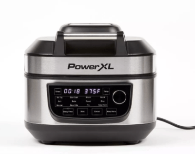 Target: PowerXL Grill Air Fryer Combo - Silver For $89.99 Reg.$150