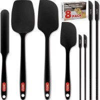 Amazon: Silicone Spatula Set of 8 for $7.79