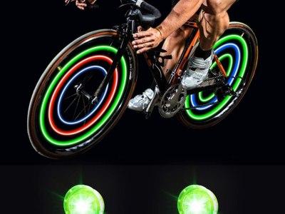 Amazon: MapleSeeker Bike Wheel Lights for $3.49