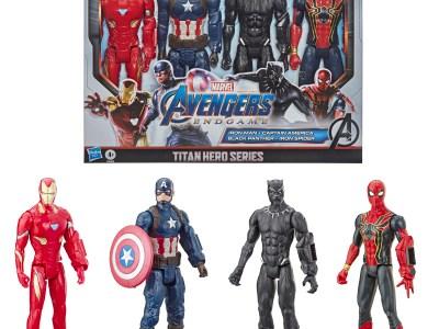 Walmart: Marvel Avengers: Endgame Titan Hero Series Action Figure 4 Pack For $20.00 Reg.$34.00