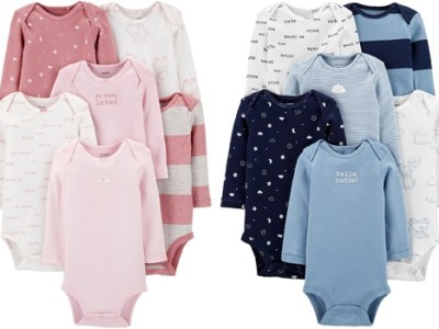 Carter's Bodysuits $1.49 Each After Macy's Money – Today Only!