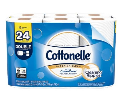 Walgreens: Cottonelle Toilet Paper Free Shipping
