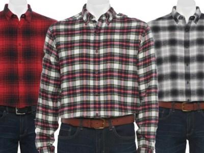 Kohl's: Croft & Barrow Flannel Shirts JUST $8