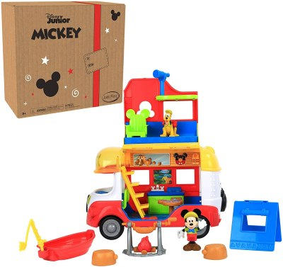 Amazon: Disney Junior Mickey Mouse Camper for $18.99