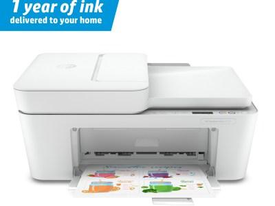 Walmart: $69 HP DeskJet Plus 4122 All-in-One Printer w/ 1 Year of Free Ink + Free Shipping