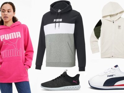 Puma: Cold Weather Apparel & Shoes – Kids' Hoodie ONLY $10!