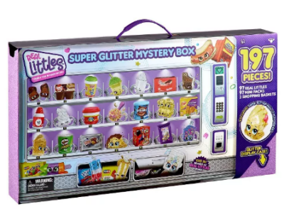 Target: Shopkins Real Littles Super Glitter Mystery Box ONLY $49.99 (Reg. $100!)